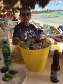 Costa Maya Krazy Lobster Bucket of Beer