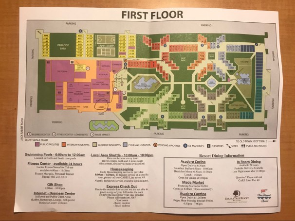 First Floor Property Map