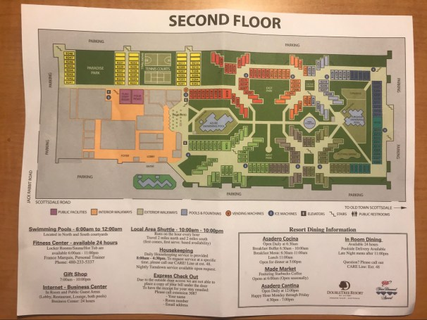 Second Floor Property Map