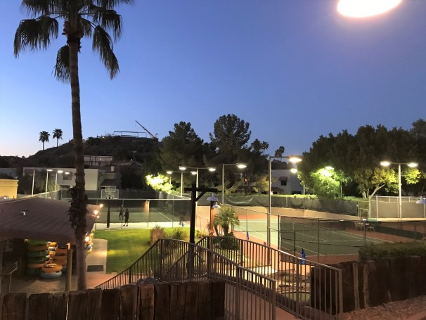 Hilton Squaw Peak Tennis Court