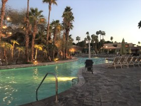Hilton squaw peak pool and handicap access chair