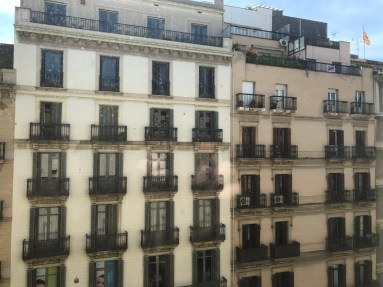BCN Hotel Gallery view from room