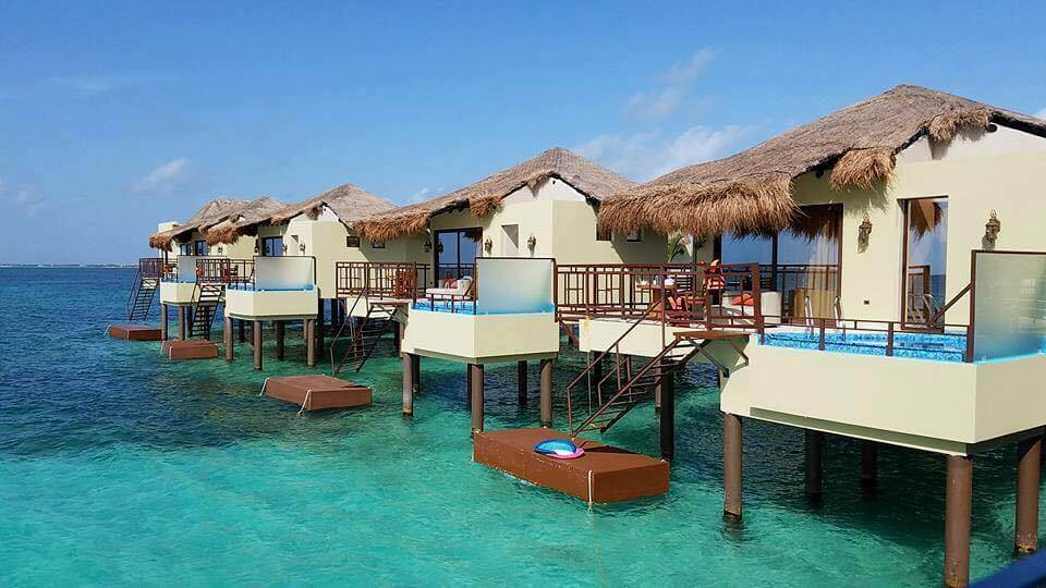 Bora Bora Mexicano Palafitos Overwater Bungalows Riviera Maya