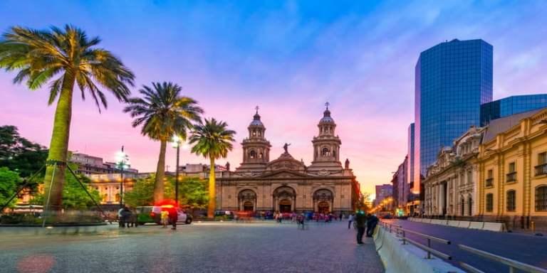 Vuelo México Santiago