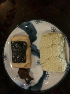 Mochi desserts