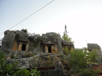 Lycian Tombs above Fethiye