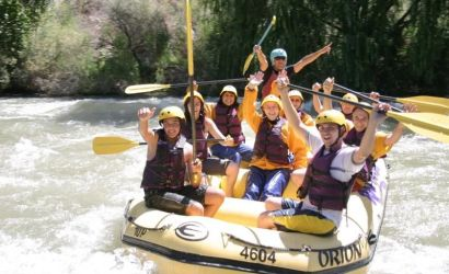 River Rafting the Mendoza Rapids
