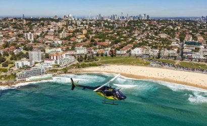 30 Min Sydney Harbour Helicopter Flight For 1