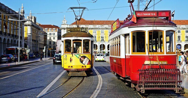 Lisbon, tram