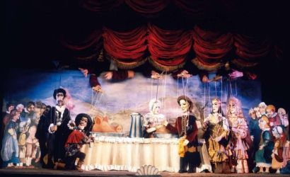 Opera Don Giovanni in Marionette Theatre