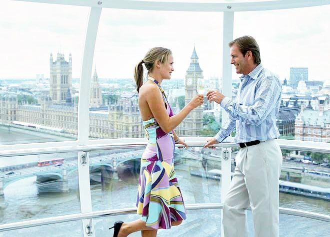 London Eye Champagne Experience with Fast Track Entry
