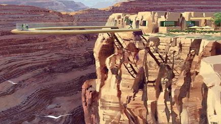 5-Day West Grand Canyon, Skywalk and Theme Park Tour with LAX airport transfer