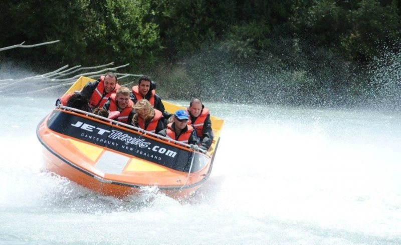 Waimakariri River Jet Boating with Transfer From Christchurch