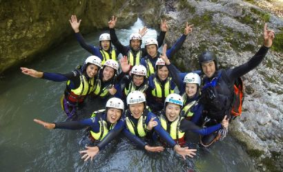 Canyoning in Interlaken from Zurich or Lucerne