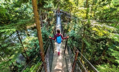 Vancouver City Tour with Capilano Suspension Bridge