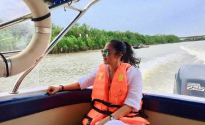 Cu Chi Tunnels by VIP Speedboat on Picturesque River