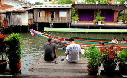 Bangkok Canal Boat and Bike Tour