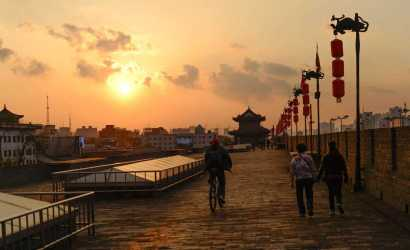 Xian Small Group Tour: 2-hour Walking Tour to City Wall