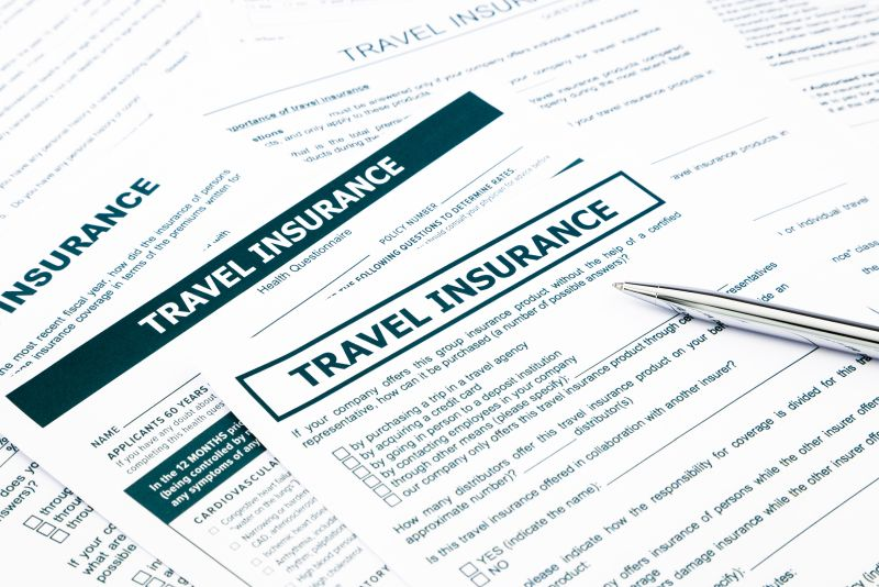 Trave insurance form