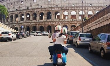 Rome by Vespa Classic Rome Tour