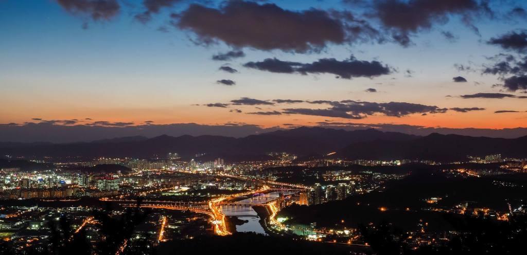 Gyeojoksan Night View
