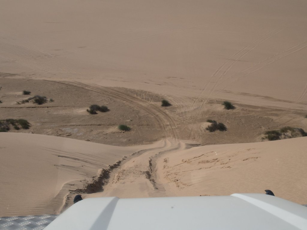 Dune bashing on the sandwich harbour tour