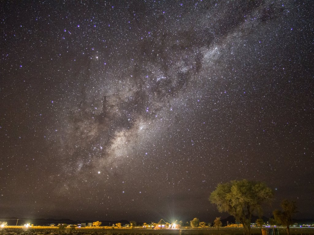 Sesriem Camp in Namib Naukluft Desert