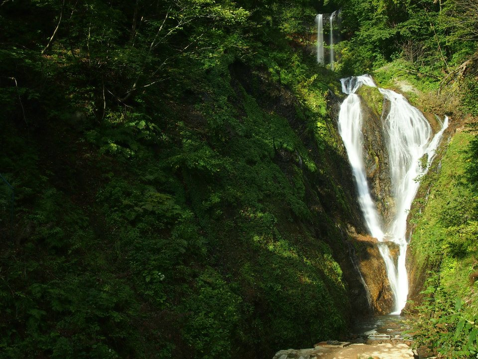 Bongnae Waterfall.  One of the top 5 things to do in ulleungdo