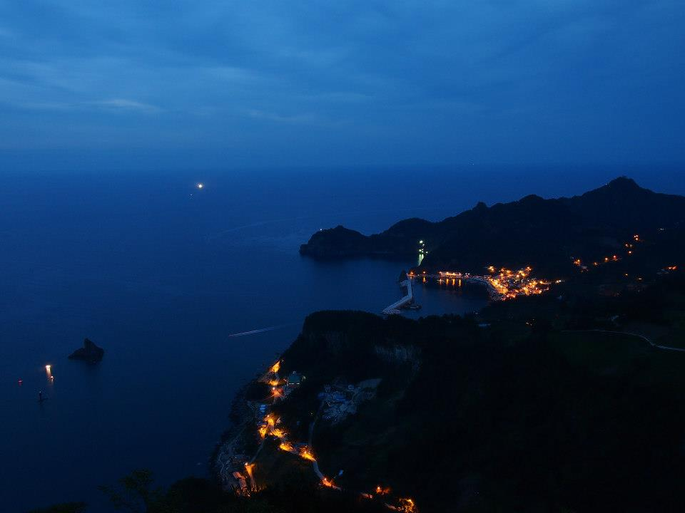 Naesujeon Sunrise Observatory on Ulleungdo, South Korea