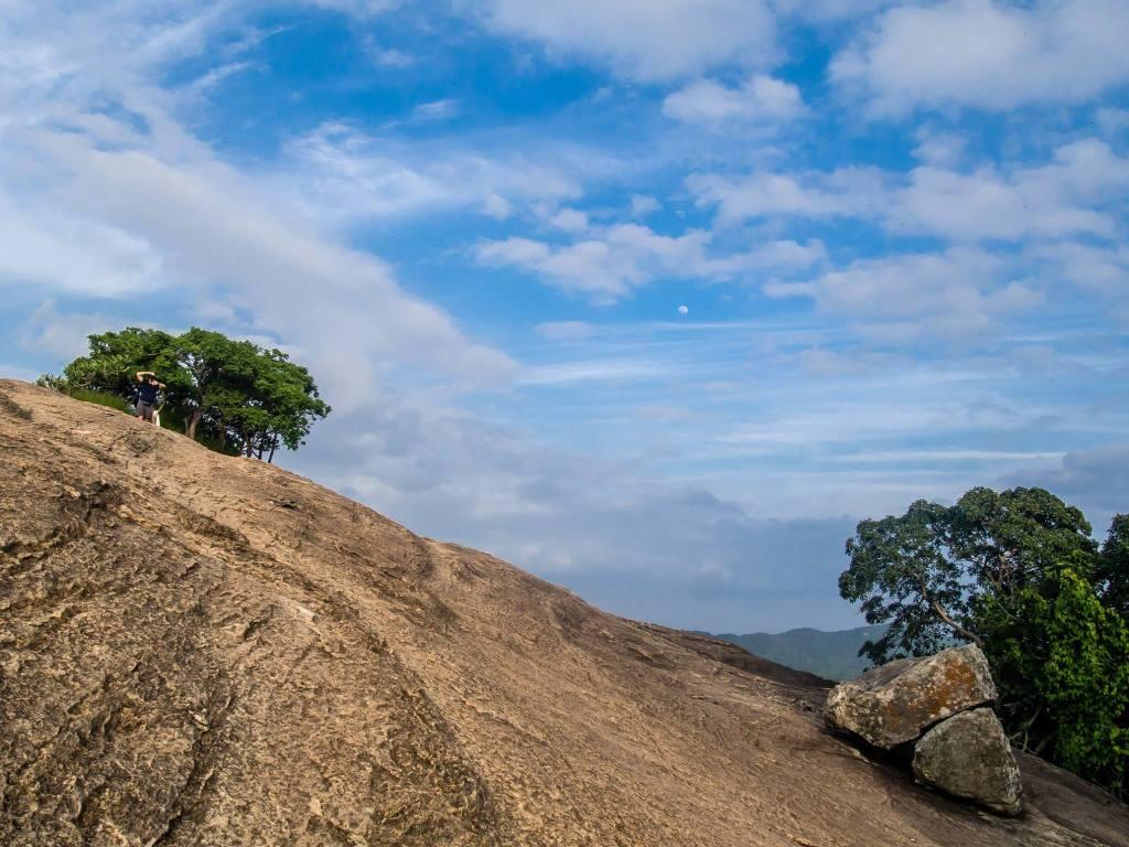 Pidurangala Rock near Dambulla, Sri Lanka