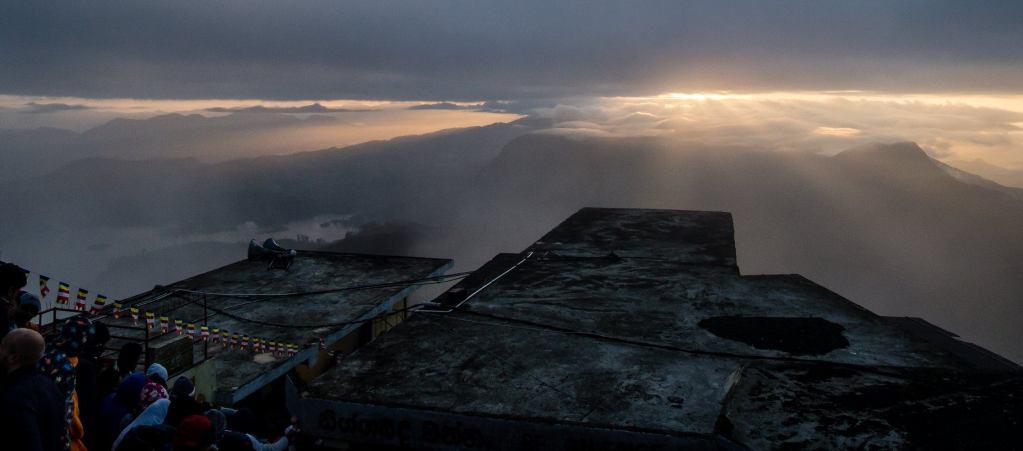 Sunrise from Adam's Peak, Sri Lanka