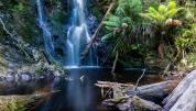 Hogarth Falls, Strahan Tasmania