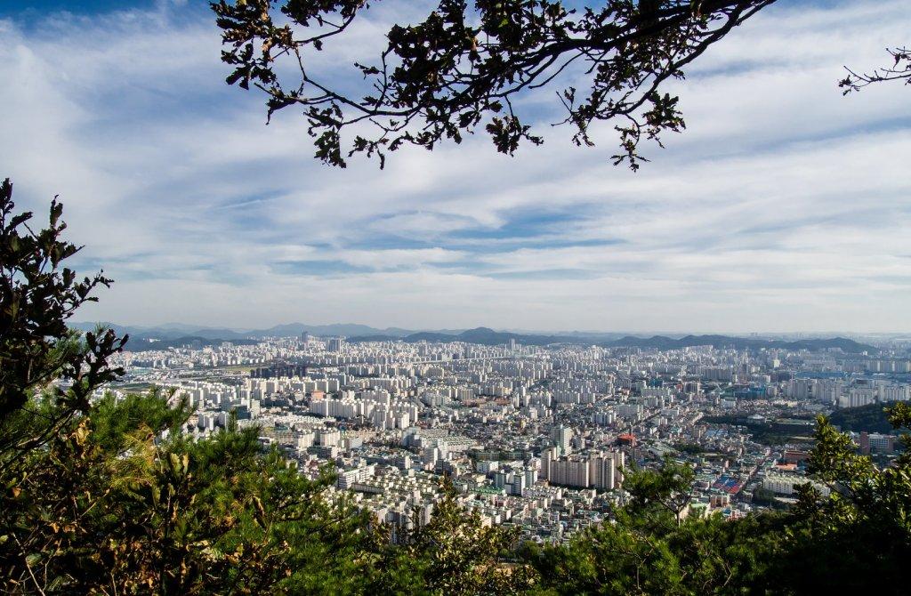 Hikes in Incheon, Gyeyangsan viewpoint