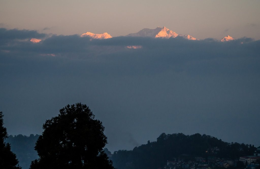 Kanchenjunga view from Darjeeling India