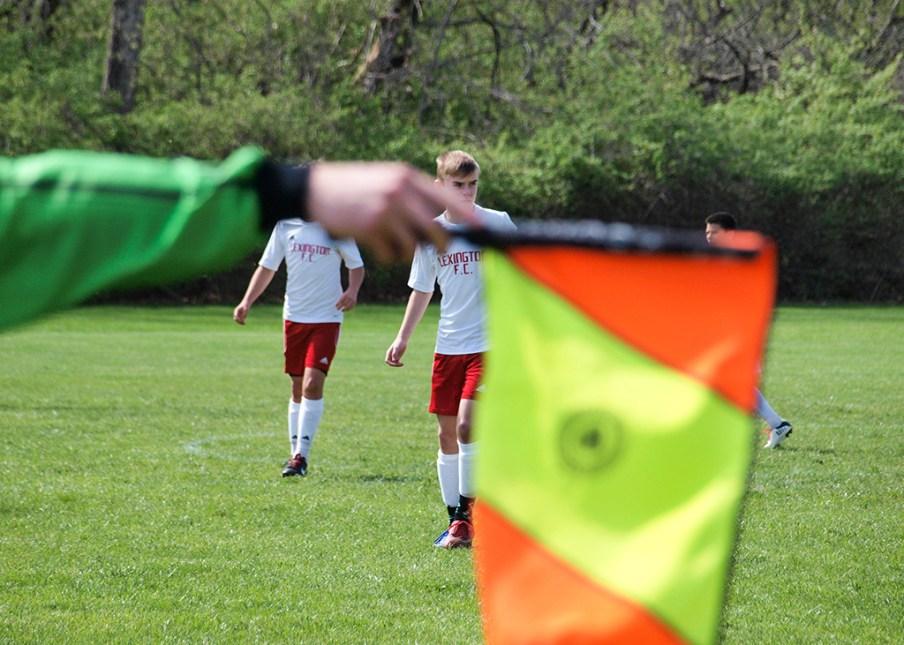 Goal kick.