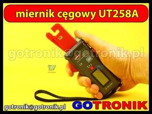 UT258A uni-t miernik cęgowy