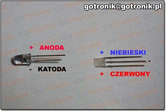 Opis wyprowadzeń diod