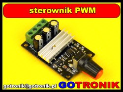 Moduł sterownika PWM 80W
