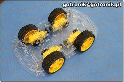 Podwozie robota - samochód