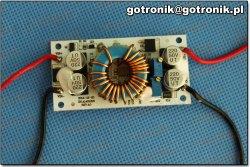 Przetwornica podwyższająca napięcie 10-50 V