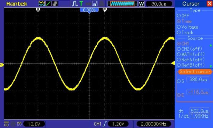 Pomiar okresu i częstotliwości