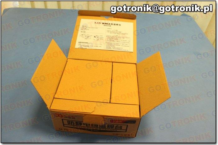 Pudełko po otwarciu