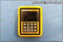 Instrukcja obsługi kalibratora MR9270S