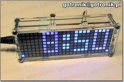 Zegarek elektroniczny z termometrem