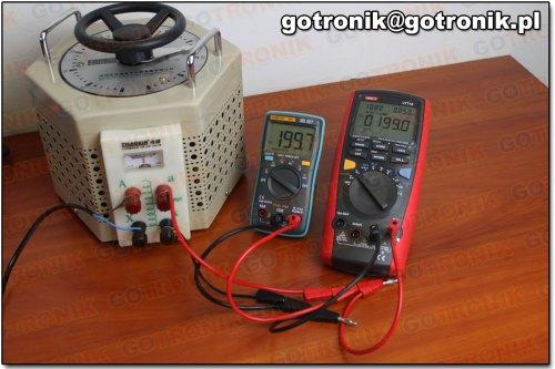 Pomiar napięcia 200V AC (101)