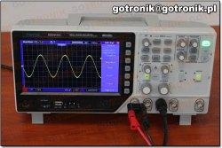 Hantek DSO4102C - sekcja generatora