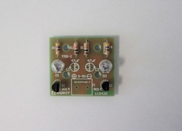 Wlutowane diody LED