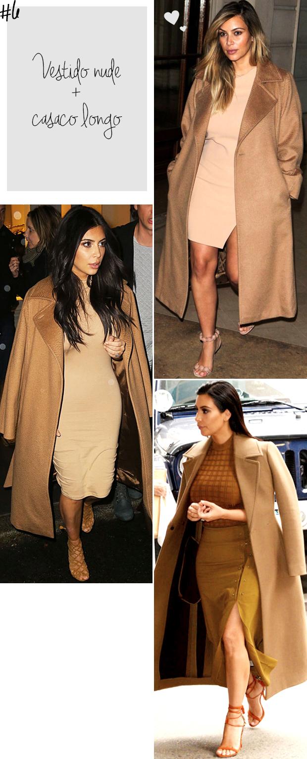 kim kardashian vestido nude casaco camel blog got sin -