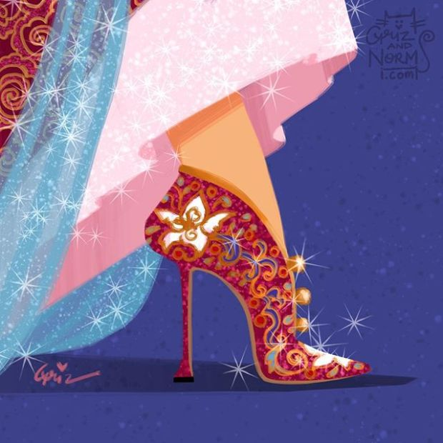 sapatos princesas disney shoes princess blog got sin mulan maolo blahnik