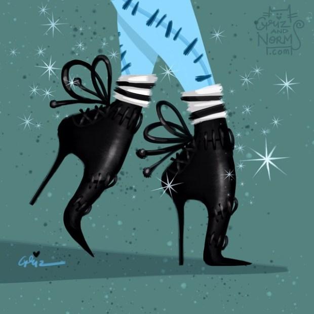 sapatos princesas disney shoes princess blog got sin sally estranho mundo de jack tabitha simmons bota stitched